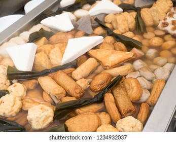 """Japanese traditional stewed dish """"Oden"""""""