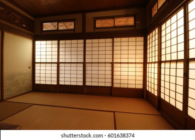 Japanese traditional Japanese style room