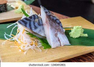Japanese Fake Food Single Ship Sashimi Assorted Sushi New