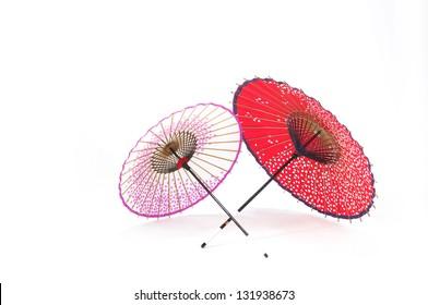 Japanese traditional umbrellas