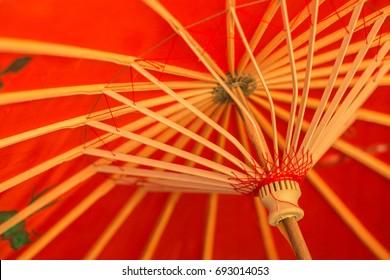 Japanese umbrella background