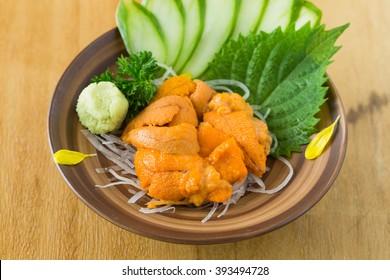 Japanese Uni (Sea Urchin Roe).