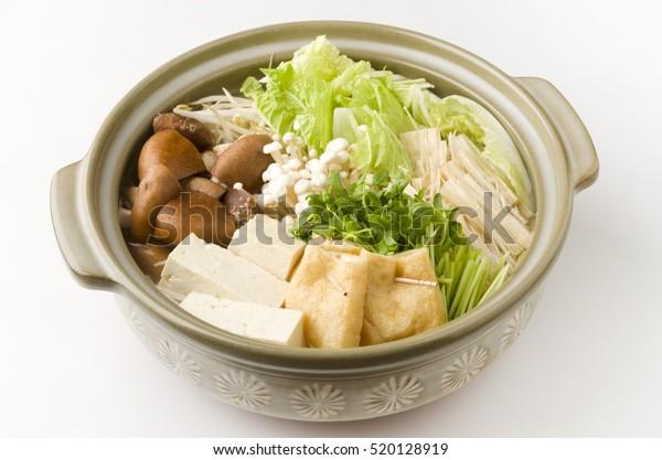 日本の野菜の鍋 – 鍋