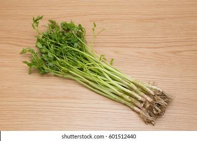 """Japanese vegetables named """"Seri"""""""