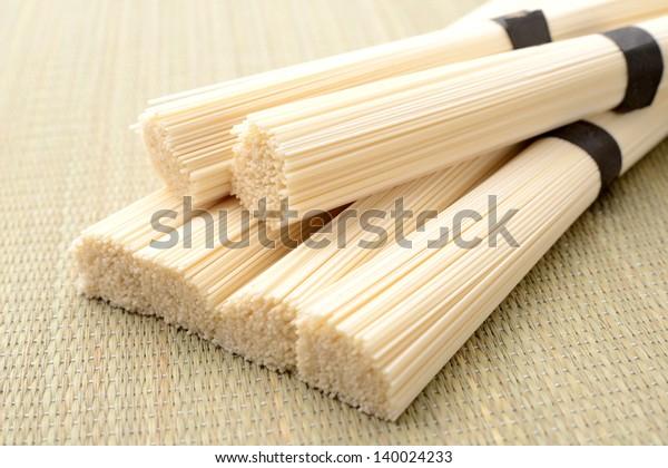 Japanese vermicellifine noodles