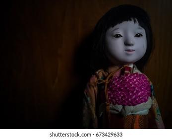 Japanese vintage creepy doll