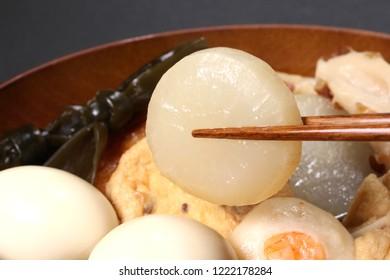 Japanese winter cuisine, Oden