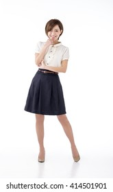 ea17deb2 Young Girls in Short Skirt Images, Stock Photos & Vectors | Shutterstock