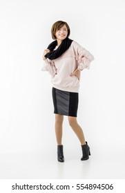 Japanese woman in her twenties