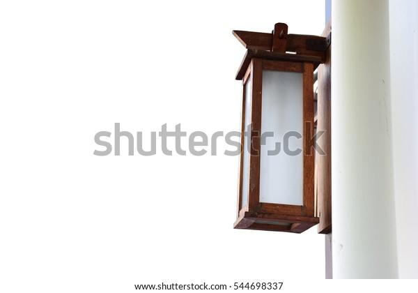 Japanese Wooden Lantern Japanese Wooden Lamp Stock Photo Edit Now