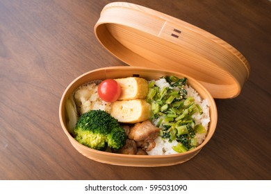 """Japanese wooden lunchbox """"magewappa"""""""