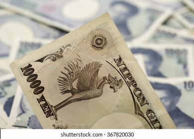 Japanese yen notes, 10000 Yen