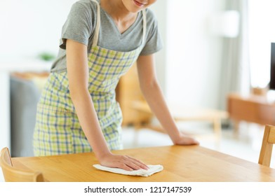 Japanese young housewife