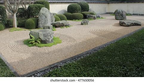 Japanese Zen Garden Images, Stock Photos & Vectors