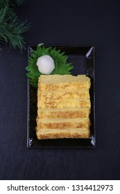 Japanese-style rolled omelette