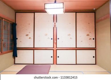 Japanese-style room. Washitsu.