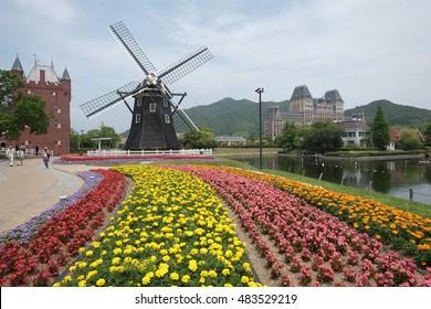 Japan,Fukuoka /Huis Ten Bosch theme park