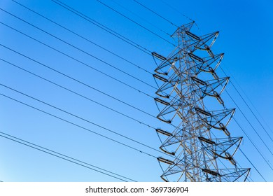 Japan's high-voltage power lines