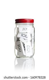 IOUÂ?Â?s in a jar