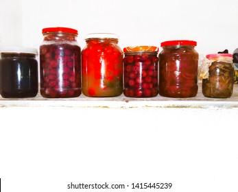 jar bottle pickles food canned