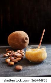 Jar of cupuacu jam