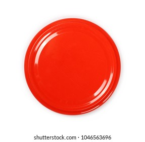 Jar lid isolated on white background, top view - Shutterstock ID 1046563696