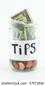 Jar for Tips