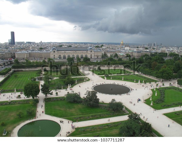 Jardin Des Tuileries Stock Photo (Edit Now) 1037711287