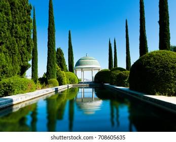 Jardin Historico-Cultural Finca de la Concepcion, Malaga, Malaga Costa del Sol, Andalusia, Spain