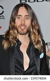 Jared Leto at the 17th Annual Hollywood Film Awards at the Beverly Hilton Hotel. October 21, 2013  Beverly Hills, CA