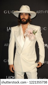 Jared Leto at the 2018 LACMA Art + Film Gala held at the LACMA in Los Angeles, USA on November 3, 2018.
