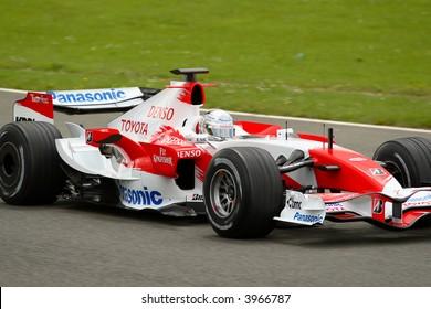 Jarno Trulli, Toyota F1 2007