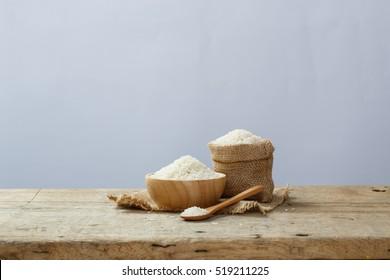 Jasmine rice grain