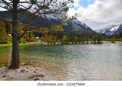 Jasna Lake in Slovenia