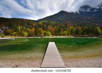 Jasna Lake in Slovenia, Kranjska Gora