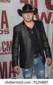 Jason Aldean at the 2011 CMA Awards, Bridgestone Arena, Nashville, TN 11-09-11