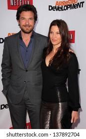 "Jason Bateman and Amanda Anka at the ""Arrested Development"" Los Angeles Premiere, Chinese Theater, Hollywood, CA 04-29-13"