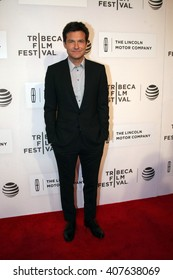 Jason Bateman attends the US Premiere of The Family Fang held at John Zuccotti Theatre at the BMCC Tribeca Performing Arts Center during the 2016 Tribeca Film Festival on April16th, 2016 in NYC.