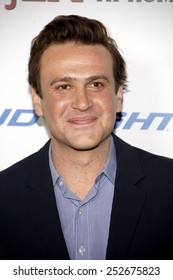 """Jason Segel at the Los Angeles Premiere of """"Jeff, Who Lives At Home"""" held at the DGA Theatre, California, United States on March 7, 2012."""