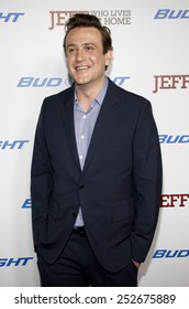 "Jason Segel at the Los Angeles Premiere of ""Jeff, Who Lives At Home"" held at the DGA Theatre,, California, United States on March 7, 2012."