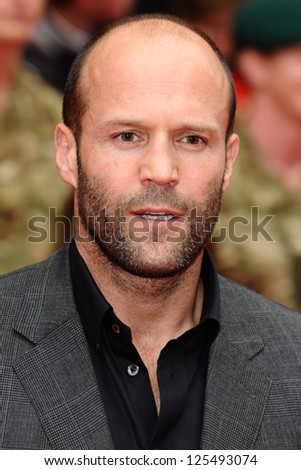 45911cda252 Jason Statham arriving for the UK Premiere of The Expendables 2 at the  Empire Cinema in