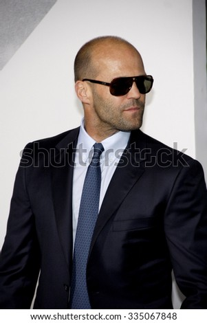 8c706fb4381 Jason Statham at the Los Angeles premiere of