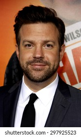 Jason Sudeikis at the Los Angeles premiere of 'Hall Pass' held at the ArcLight Cinemas in Hollywood on February 23, 2011.