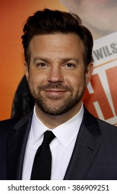 "Jason Sudeikis at the Los Angeles Premiere of ""Hall Pass"" held at the ArcLight Theater in Los Angeles, California, United States on February 23, 2011."