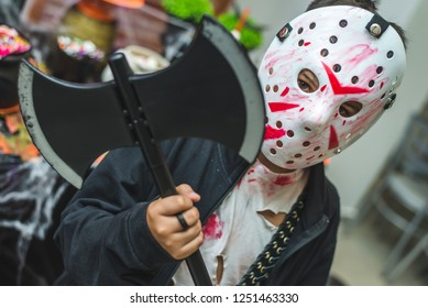 Jason Voorhees's halloween costume