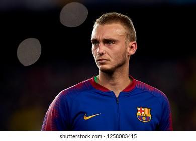 d233c39bb Jasper Cillessen of Barcelona during the match between FC Barcelona and  Tottenham Hotspurs at Camp Nou