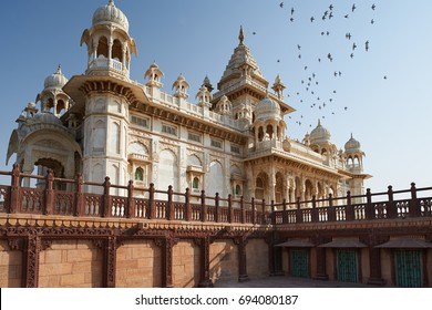 The Jaswant Thada is a cenotaph located in Jodhpur, in the Indian state of Rajasthan. It was used for the cremation of the royal family of Marwar. Jodhpur Rajasthan India.