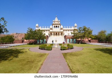 Jaswant Thada in Jodhpur, Rajasthan in India