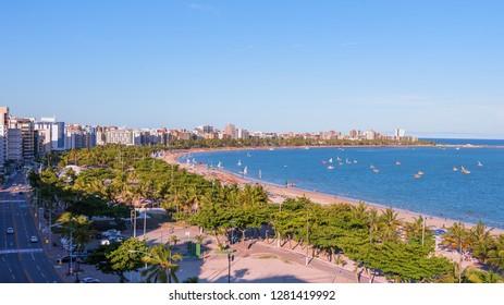 Jatiuca beach in Maceio, Alagoas, Brazil