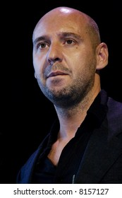 Jaume Balagueró presenting REC 1 at Sitges International Film Festival of Catalonia.